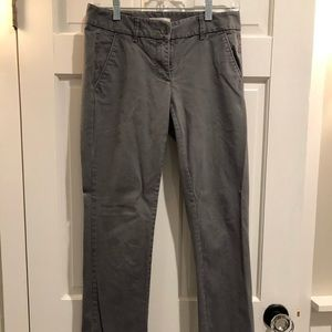 LOFT!  Women's cotton boyfriend style pants